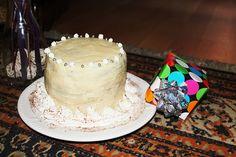 Tarta de trufa y chocolate blanco