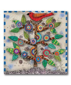 Another great find on #zulily! 'Family Tree' Wrapped Canvas, $30 !! #zulilyfinds