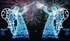 fot. viola2112 #christmas #christmaslights #angels