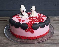 Liljan Lumo: Dog -cake for Eevi´s birthday