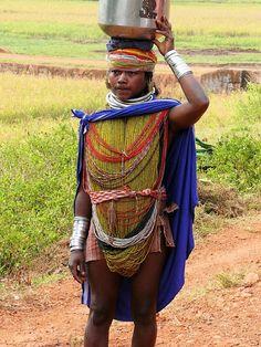 Local fashion: Tribal jewelry of Orissa