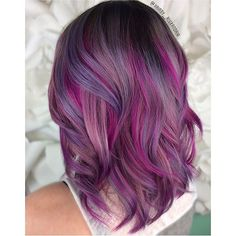 @hairby_aluxandria from @lux_salon is the artist... Pulp Riot is the paint.