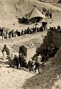 I love the history of archaeology almost as much as the archaeology itself :) Site of King Tutankhamun's Tomb