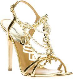 DSquared2 ~ Chain Strap Sandal