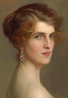 Portrait of Viscountess Chaplin (1915), Philip Alexius de Laszlo