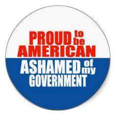 proud+to+be+an+american   Proud to be an American Round Sticker