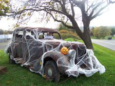 halloween car - Car Decorations For Halloween