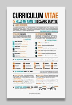 Business infographic & data visualisation   Business infographic : 28 Amazing Examples of Cool and Creative Resumes/CV   Infographic   Description  Business infographic : 28 Amazing Examples of Cool and Creative Resumes/CV    – Infographic Source –