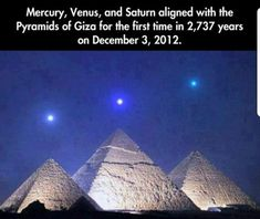 Funny pictures about Planet Alignment Over Egyptian Pyramids. Oh, and cool pics about Planet Alignment Over Egyptian Pyramids. Also, Planet Alignment Over Egyptian Pyramids photos. Pyramids Of Giza, Giza Egypt, Wtf Fun Facts, Random Facts, The More You Know, Science And Nature, Science Daily, Humor, Mind Blown