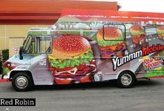 Red Robin Food Truck