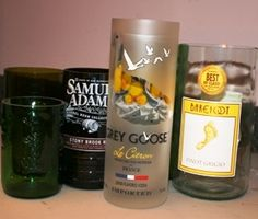 How to Upcycle your Holiday Glass bottles