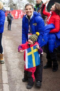 Swedish Royals Attend World Ski Championships