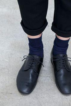 hobonichi + a. hobonichi + a. Sock Shoes, Shoe Boots, Fashion Shoes, Fashion Outfits, Womens Fashion, Little Boy Fashion, Doc Martens Oxfords, Japan Fashion, Colorful Fashion