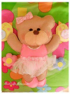 A beautiful ballerina-bear