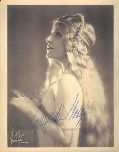 Lucrezia Bori as Melisande c.1925 by Strauss-Peyton