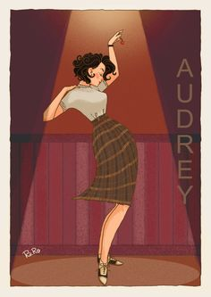 Audrey - Twin Peaks by RaRo81
