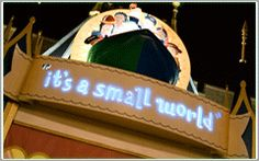 """It's a Small World    """"it's a small world,"""" a classic attraction in Walt Disney World's Magic Kingdom Theme Park, features a catchy melody sung by nearly 300 brightly costumed dolls. These dolls sing, dance and bring the continents together in a small world!"""