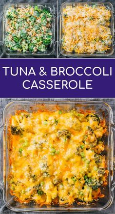 This is an easy low carb and keto recipe for baked tuna casserole with broccoli. It's simple and quick to make with only 6 ingredients and incredibly comforting creamy and cheesy. Healthy Crockpot Recipes, Low Carb Recipes, Diet Recipes, Quick Recipes, Easy Tuna Recipes, Vegetarian Recipes, Jello Recipes, Sushi Recipes, Smoothie Recipes