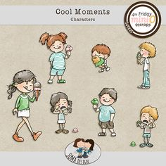 SoMa Design: Cool Moments - Characters