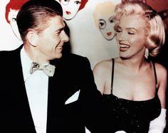 Ronald Reagana a Marilyn Monroe