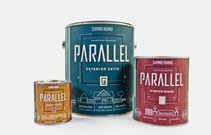 Parallel Gallery Paint Collection (Student Project) on Packaging of the World - Creative Package Design Gallery