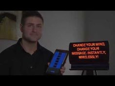 Introducing a brand new kind of wireless interactive digital sign technology. Verbalized is immediate, intuitive and it has impact. Message Board, Your Message, Change Your Mind, You Changed, Mindfulness, Messages, Sign, Led, Youtube