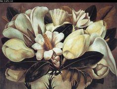 Frida Kahlo, Magnolias - 1945 FRIDA KAHLO (1907 - 1954 ) MEXICAN ARTIST : More At FOSTERGINGER @ Pinterest