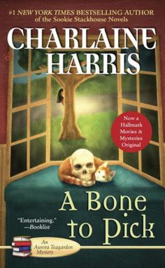 Finished - A Bone to Pick (Aurora Teagarden Mysteries, Book by Charlaine Harris Got Books, I Love Books, Books To Read, Charlaine Harris Books, Aurora, Bone To Pick, A Bone, Vash, Mystery Novels