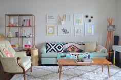un sillón clásico podemos modernizarlo poniéndole una tapicería de estampado