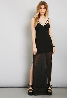 fit n flare maxi dress forever