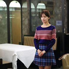 UNCONTROLLABLY FOND still cut <4> . . . . .  #7월6일첫방송 2016.7.6… Uncontrollably Fond Kdrama, Suzy Drama, Young Kim, My Love From The Star, Love Film, Kim Woo Bin, Bae Suzy, Korean Model, Most Beautiful Women
