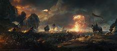 Battlefield, Grzegorz Rutkowski on ArtStation at http://www.artstation.com/artwork/battlefield-b00b8b7c-9f4f-4380-899c-a1bc16d27891