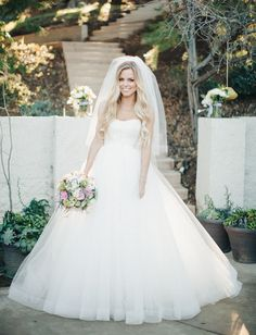 Custom wedding dress -- a Sottero Midgley dress with a Casa Blanca tulle skirt