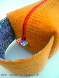 Tutorial: How to sew a box bag with a handle