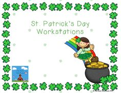 Holiday Math - St. Patricks Day on Pinterest | St. Patrick's Day ...