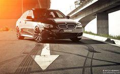 BMW 545i 'I' by Mitch Hemming, via Flickr