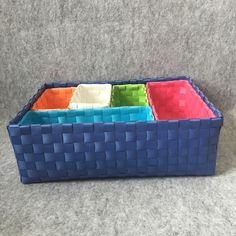 Six Pieces, Very Practical Knitted Basket, No Sundries Basket Home Basket Home Basket Woven Collection, A Large Box, A Medium And Four From Shnaia111, $20.11 | DHgate.Com Storage Baskets, Basket Weaving, Medium, Box, Outdoor Decor, Color, Collection, Home Decor, Colour