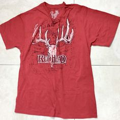 1be68d81d Red Head Graphic Men Size 2XL Red Shirt Short Sleeve  fashion  clothing   shoes  accessories  mensclothing  othermensclothing (ebay link)