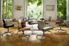 Eames Soft Pad Group Chairs | Eames chairs