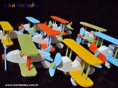 Luartebaby Artesanato: Lembrancinha de aniversario infantil avião mdf Lua...