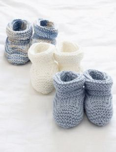 Knit Baby Booties Pattern When it comes to basic knitting, it doesn't get much better than these adorable baby booties.When it comes to basic knitting, it doesn't get much better than these adorable baby booties.