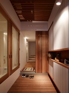 Narrow House In Japan With A Vertically Living Space : Garage Interior Design Ideas For Garage As Second Living Room Architecture Design Decorations Ideas Gallery : Architecture Design and Decorations : . Japanese Architecture, Interior Architecture, Interior Design, Kitchenette Studio, Sou Fujimoto, Narrow House, Modern Tiny House, Japanese Interior, Japanese House