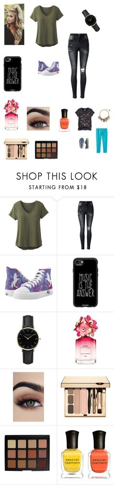 """""""Taking Bella to a trampoline park party"""" by bellzellz ❤ liked on Polyvore featuring prAna, Casetify, ROSEFIELD, Marc Jacobs, Morphe and Deborah Lippmann"""