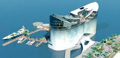 Qatar has shown interest in a Finnish architecture firm's proposal to build 'floating hotels.