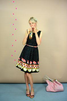 "Kleid ""Black Daisy"" // Dress ""Black Daisy"" by Bonnie & Buttermilk via DaWanda.com"