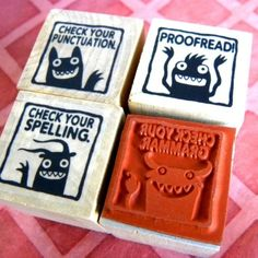Grammar Stamps // 30 Thank-You Gifts A Teacher Would Actually Want