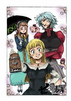 Seven Deadly Sins Genderbent by Frogslippers on DeviantArt Anime One, Otaku Anime, Anime Art Girl, Manga Anime, Seven Deadly Sins Anime, 7 Deadly Sins, Kamigami No Asobi, 7 Sins, Seven Deady Sins