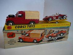 Annons på Tradera: Ferrari Racing Set - Corgi Toys Gift Set No. GS17
