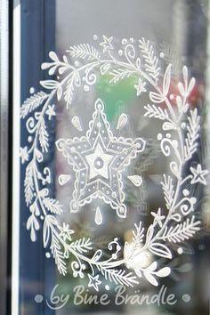 Die 72 Besten Bilder Von Weihnachten Fensterbilder Diy Christmas