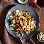 Chicken Stir-Fry with Peanut Sauce Recipe | MyRecipes.com